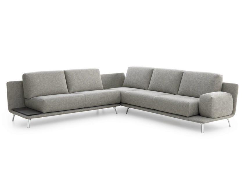 Corner fabric sofa PALETA | Corner sofa - LEOLUX