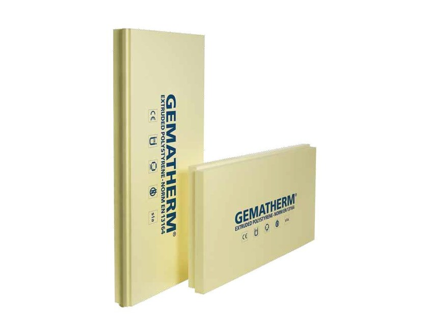 XPS thermal insulation panel GEMATHERM - SIRAP INSULATION