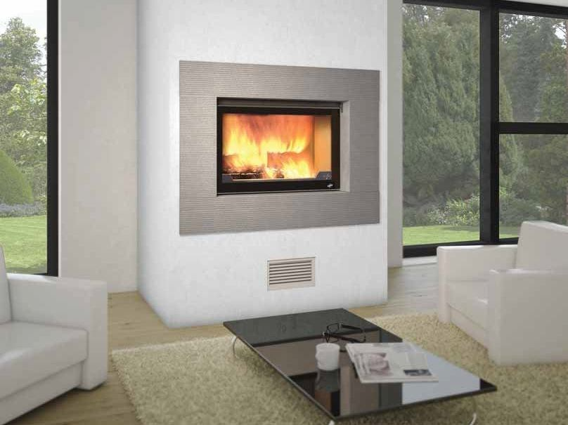 Wood-burning built-in wall-mounted fireplace LAGUNE II - CHEMINEES SEGUIN DUTERIEZ