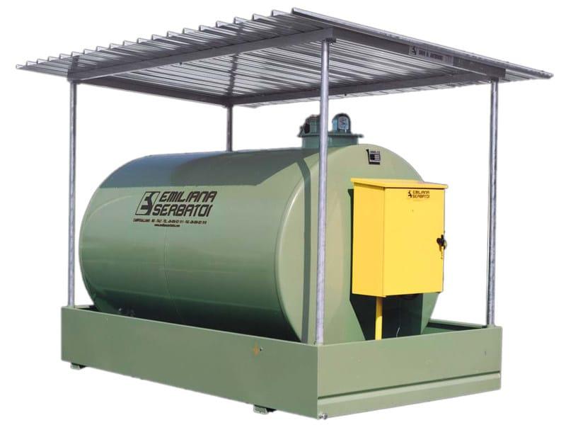 Basin, cistern and tank for water works TANK FUEL - TF/Batteria - EMILIANA SERBATOI