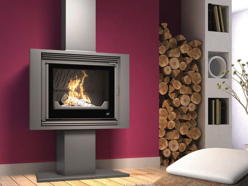Wood-burning stove OPALE - CHEMINEES SEGUIN DUTERIEZ