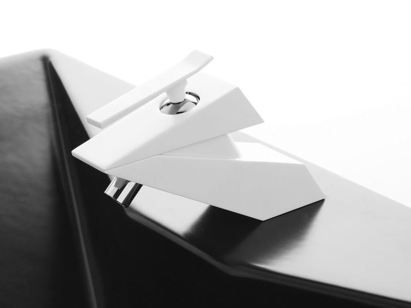 Countertop single handle 1 hole bidet mixer PANFILO | Countertop bidet mixer - Rubinetterie Mariani