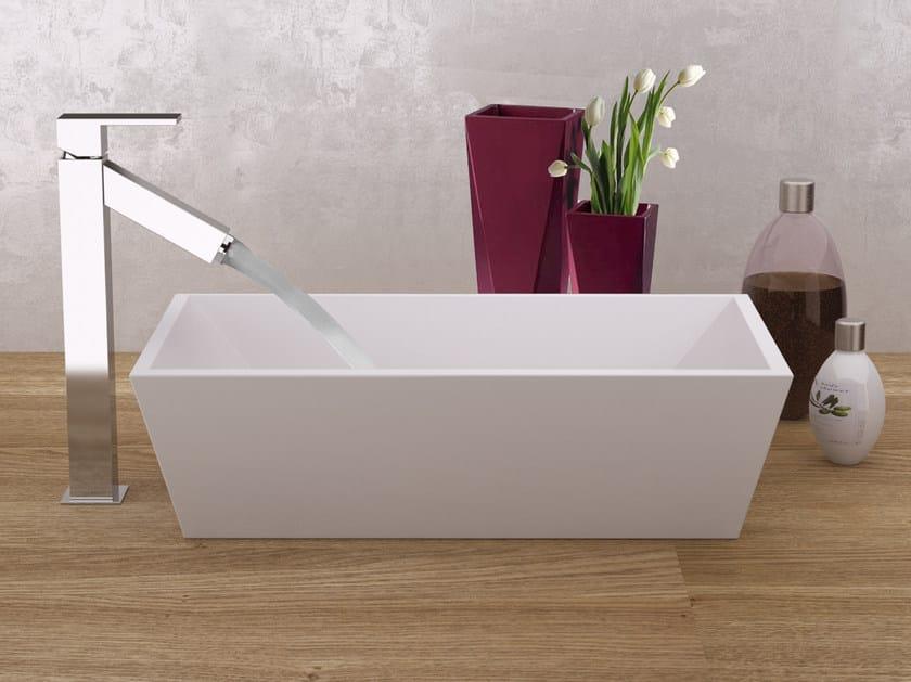 Single handle washbasin mixer without waste TOWER | Washbasin mixer - Rubinetterie Mariani