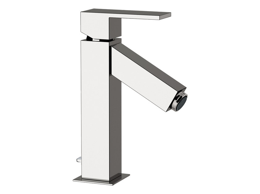 Countertop single handle washbasin mixer TOWER | Countertop washbasin mixer - Rubinetterie Mariani