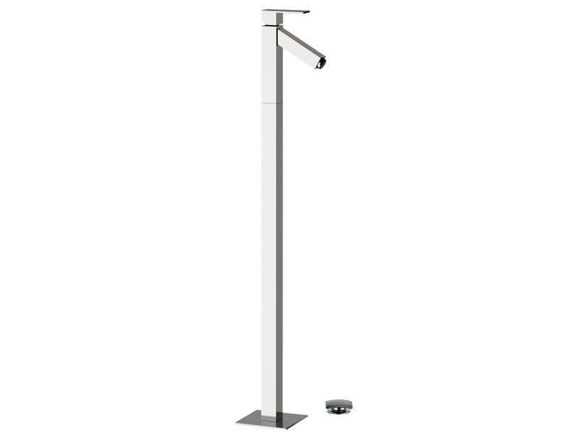 Floor standing single handle washbasin mixer TOWER | Floor standing washbasin mixer by Rubinetterie Mariani