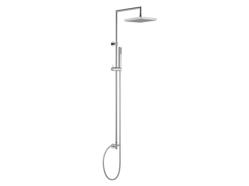 Wall-mounted shower panel with diverter A53-CD | Shower panel - Rubinetterie Mariani