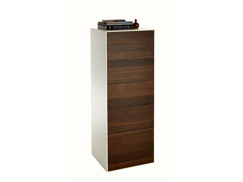 Free standing wooden chest of drawers LUNIS | Chest of drawers - Hülsta-Werke Hüls