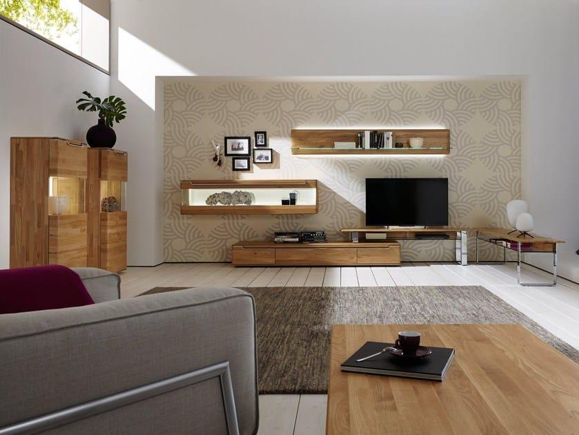 Wooden storage wall VEDUA | Storage wall - Hülsta-Werke Hüls