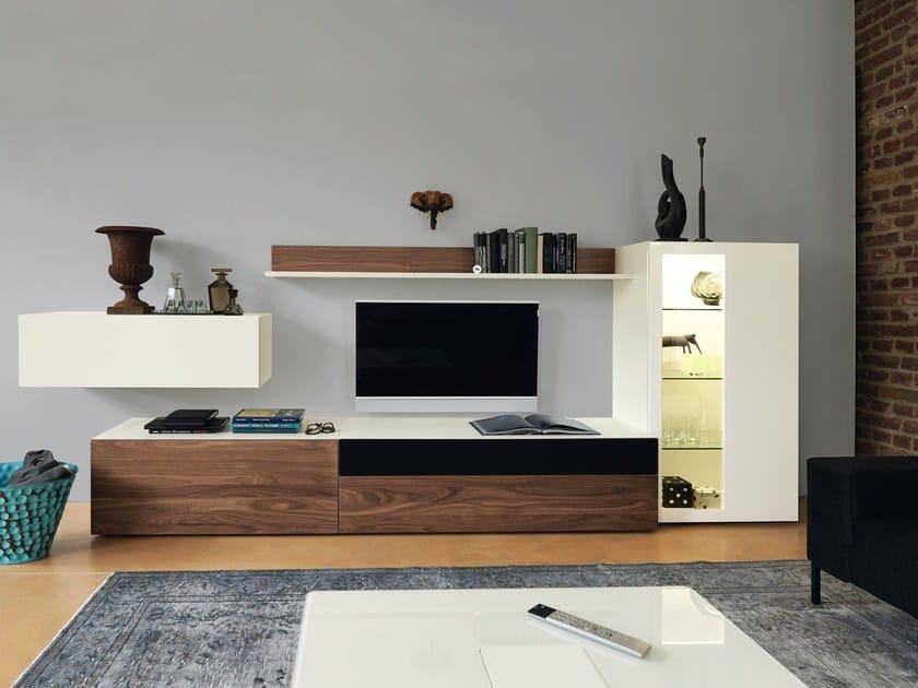 Wooden storage wall NOW! VISION | Storage wall - Hülsta-Werke Hüls