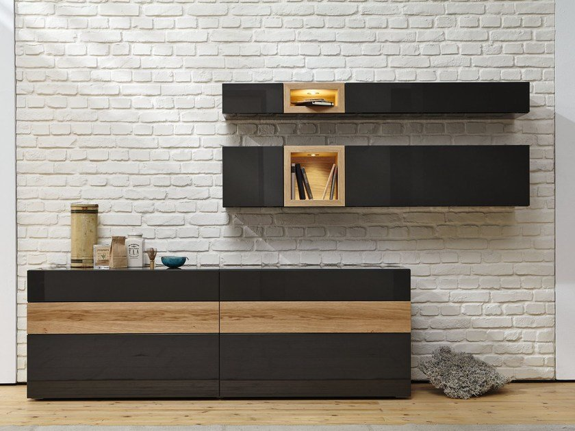 neo sideboard by h lsta werke h ls. Black Bedroom Furniture Sets. Home Design Ideas