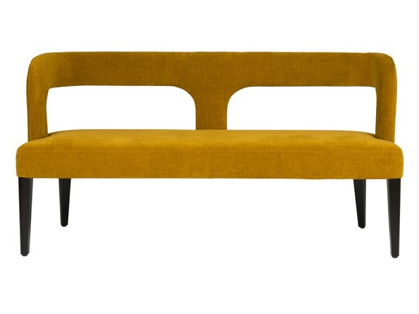 Upholstered bench with back PENELOPE - Hamilton Conte Paris
