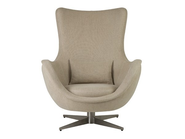 Swivel fabric armchair IRENE - Hamilton Conte Paris