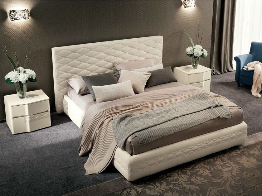 Bed with upholstered headboard CHANEL | Bed - Dall'Agnese