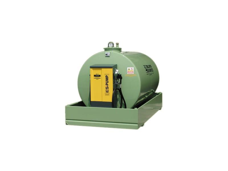 Basin, cistern, and tank for hydraulic works TANK FUEL - TF/GLM-M - EMILIANA SERBATOI