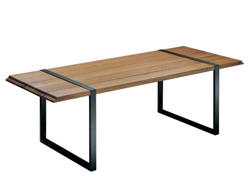 Oak table RAW - Zanotta