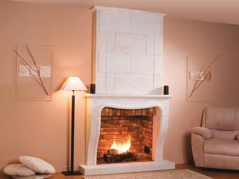 Wood-burning fireplace RONSAC - CHEMINEES SEGUIN DUTERIEZ