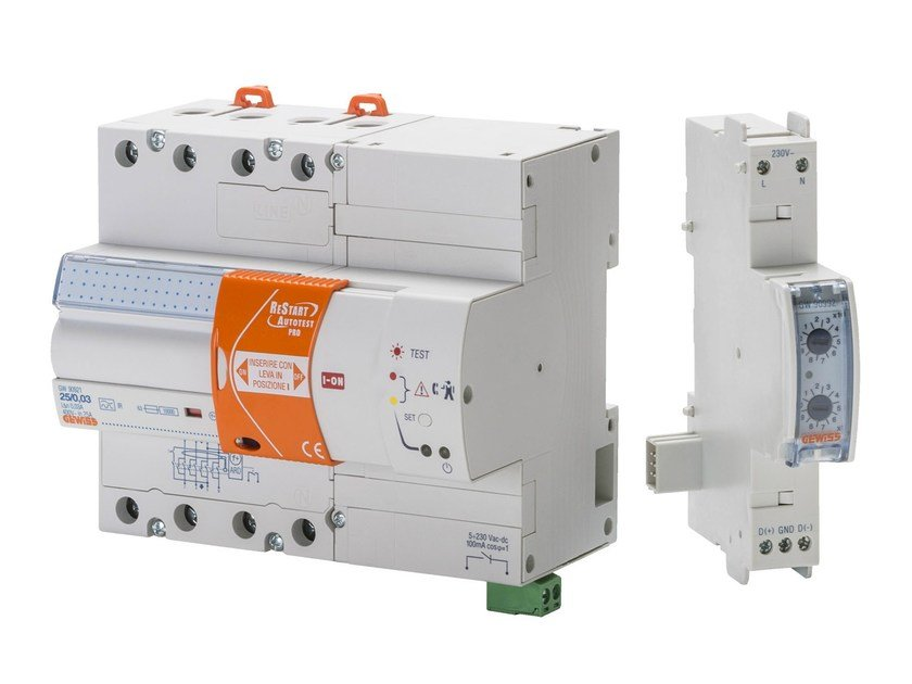 Lightning conductor and protection system RESTART BUS by GEWISS