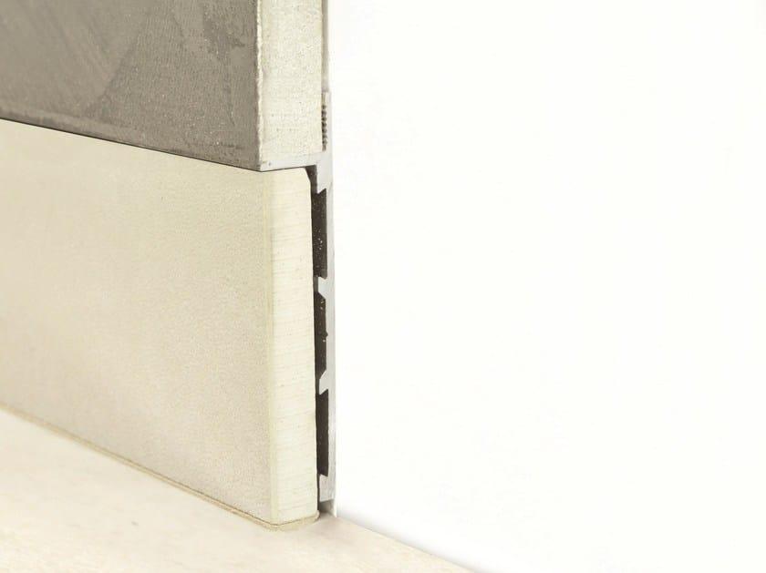 Aluminium Skirting board PLANO BFW - PROFILITEC