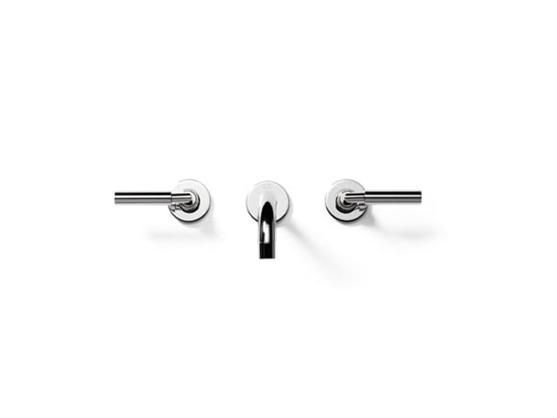 3 hole wall-mounted washbasin tap TARA | Washbasin tap - Dornbracht