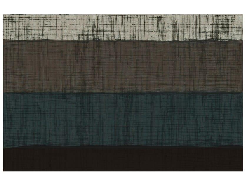 Rectangular striped rug SW RUGS AULA #2 - STELLAR WORKS