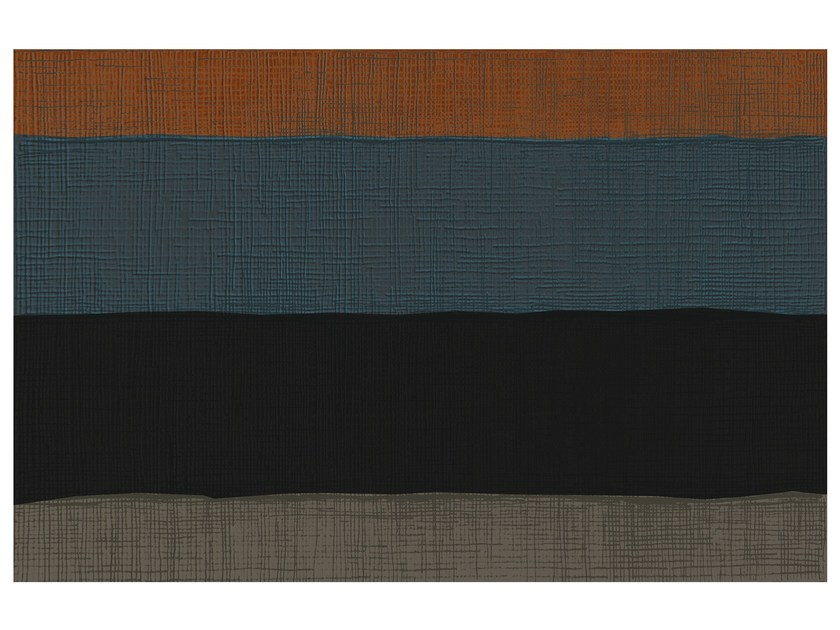 Rectangular striped rug SW RUGS AULA #3 - STELLAR WORKS
