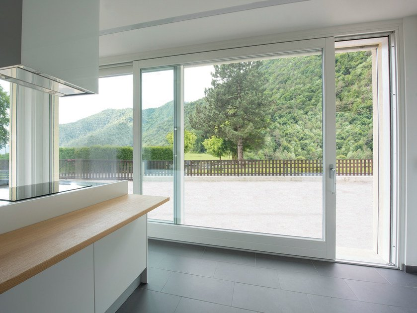 Lift and slide window HS LIFT-AND-SLIDE DOORS - Alpilegno