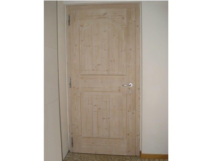 porta in legno massello porta - alpilegno - Porta Dingresso In Legno Massello