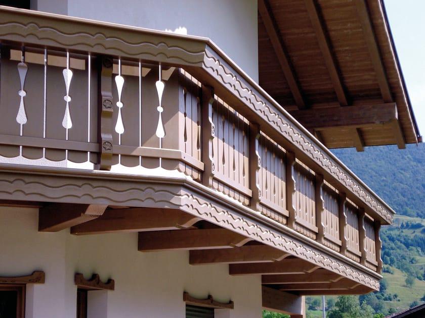 Wooden balconies Wooden balconies - Alpilegno