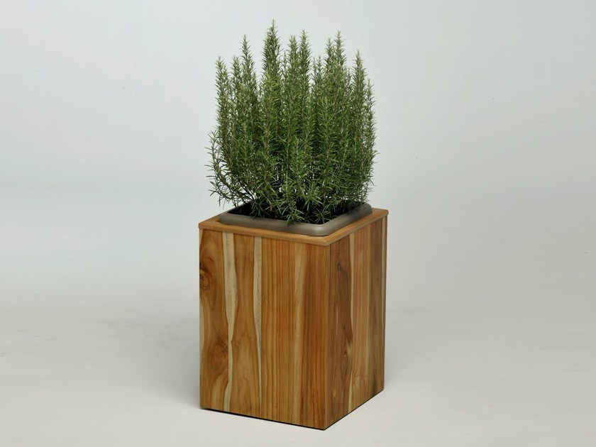 Wooden plant pot MEXICO | Wooden plant pot - Lgtek Outdoor