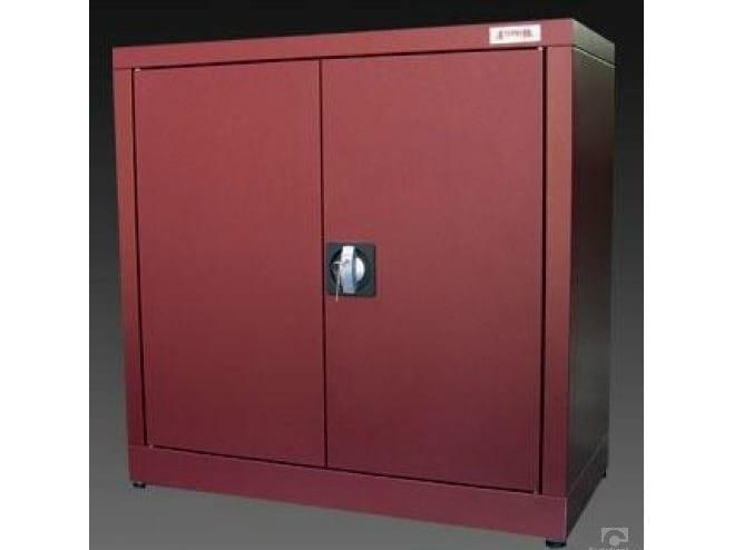 mobile ufficio basso con ante a battente con serratura