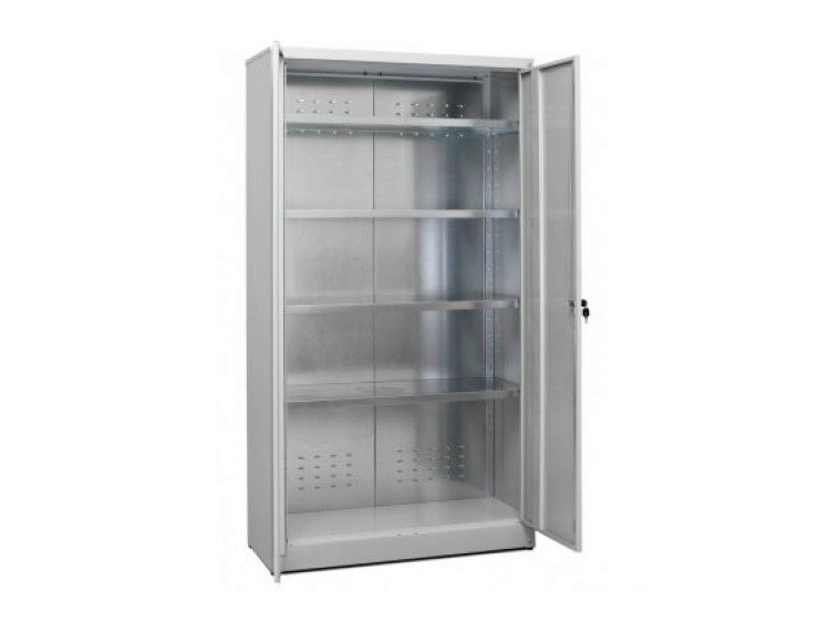 Office storage unit with hinged doors with lock ZTP10040180 | Office storage unit - Castellani.it