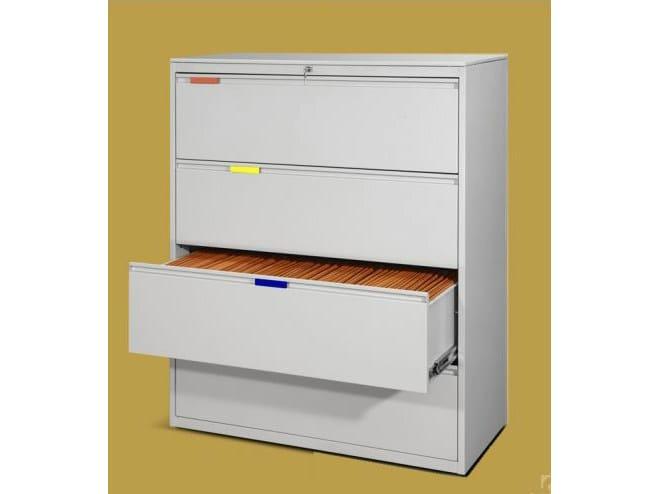 Metal filing cabinet 106.814 | Filing cabinet - Castellani.it