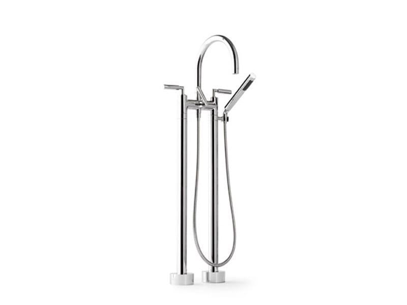 2 hole floor standing bathtub tap TARA | Floor standing bathtub tap - Dornbracht