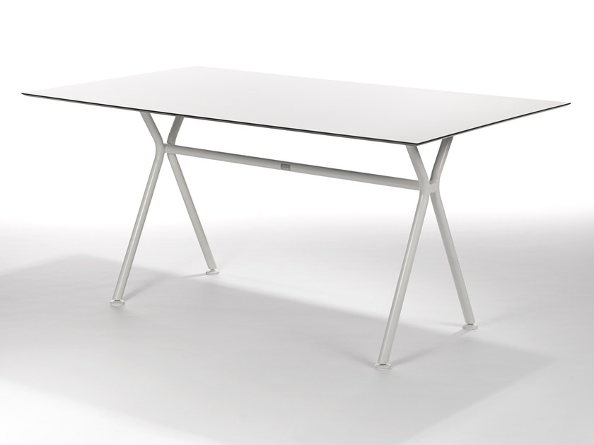 Rectangular aluminium garden table NIZZA | Rectangular table by FISCHER MÖBEL