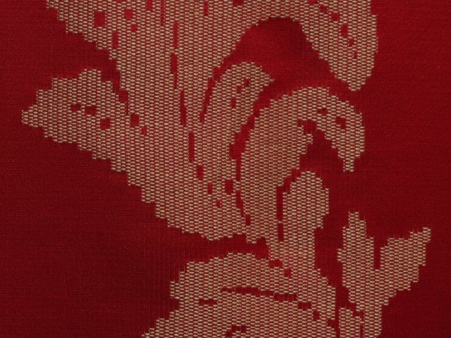 Damask upholstery fabric ASUKA - LELIEVRE