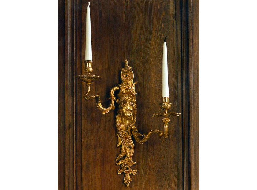 Wall-mounted bronze candlestick 21406 | Wall-mounted candlestick - Tisserant