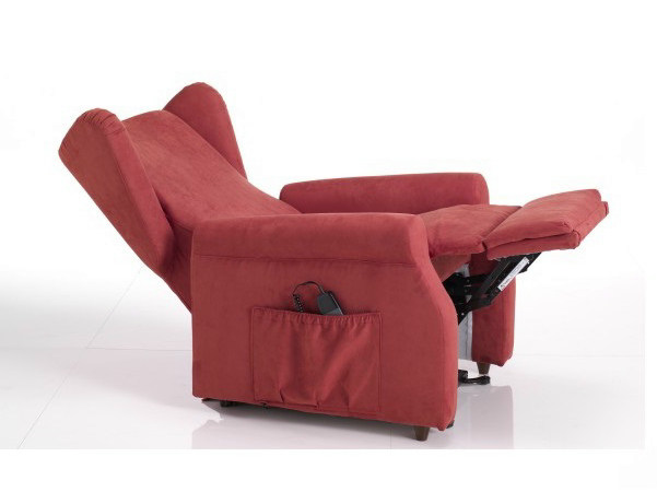 Armchair with motorised functions with footstool 316 | Armchair - Castellani.it