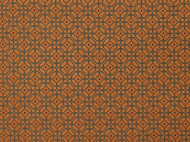 Fabric with graphic pattern PALANQUIN - LELIEVRE