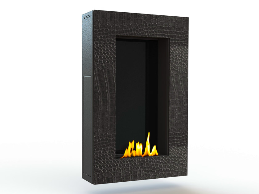 Bioethanol wall-mounted steel fireplace TANGO I CREA7ION by GlammFire