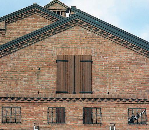 Pezzo speciale facciavista in laterizio coprimurette for Velux finestre usate