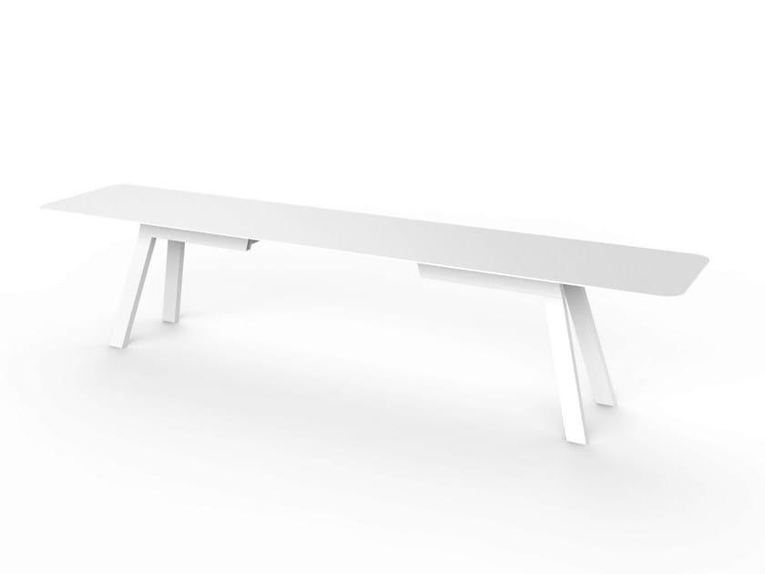 Corian® garden bench SLIM | Bench - VITEO