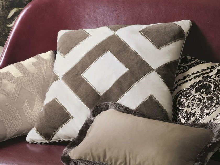 Upholstery fabric with graphic pattern CARREE - Zimmer + Rohde