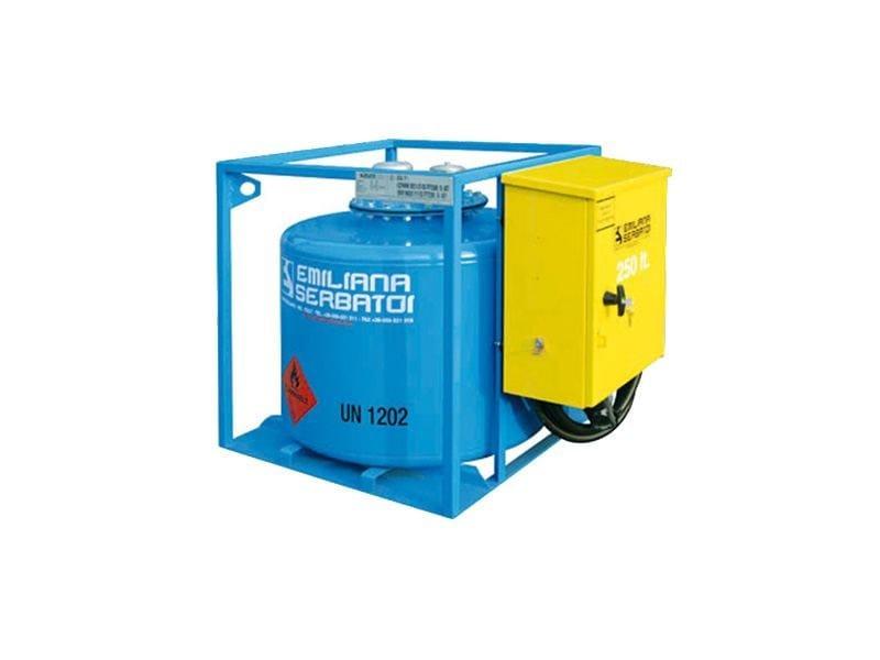 Basin, cistern and tank for water works TRASPO® TFT 250 - EMILIANA SERBATOI