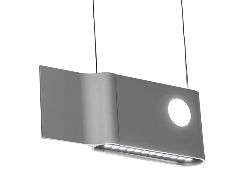 LED aluminium pendant lamp RIIBE - FLASH DQ by LUG Light Factory