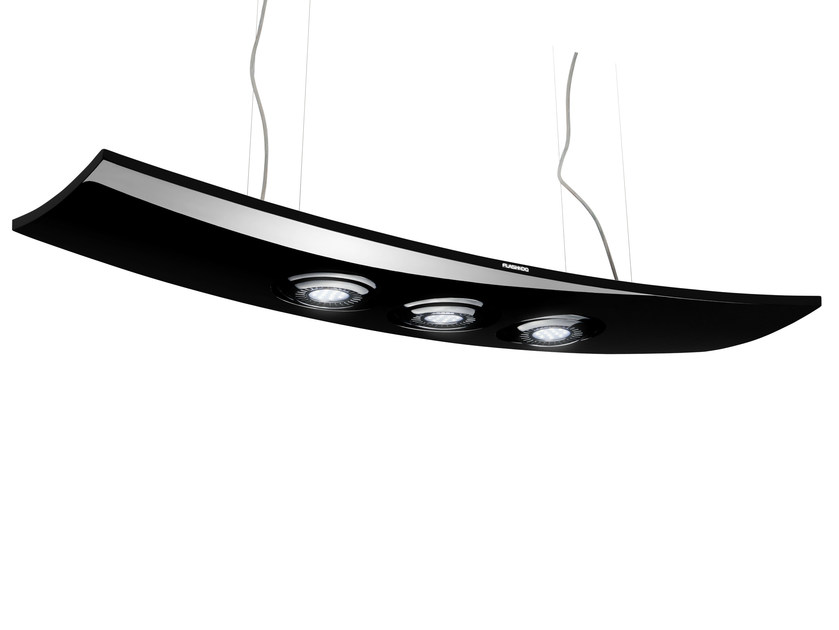 LED resin pendant lamp SPHERE B - FLASH DQ by LUG Light Factory