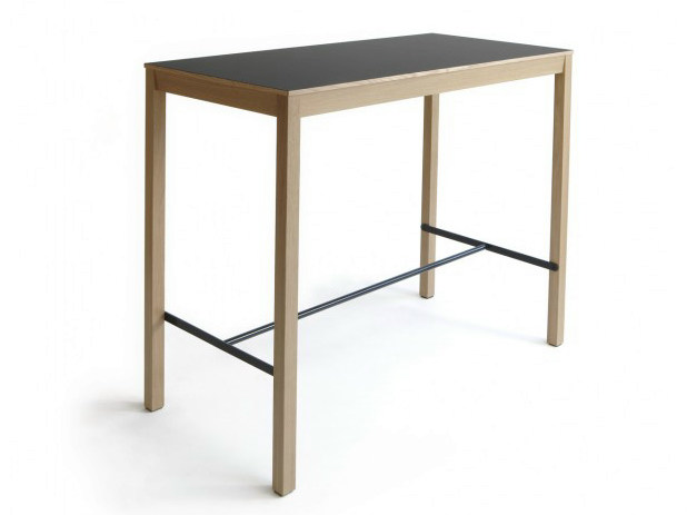 Rectangular wooden high table SKANDINAVIA KVBP12 - Nikari