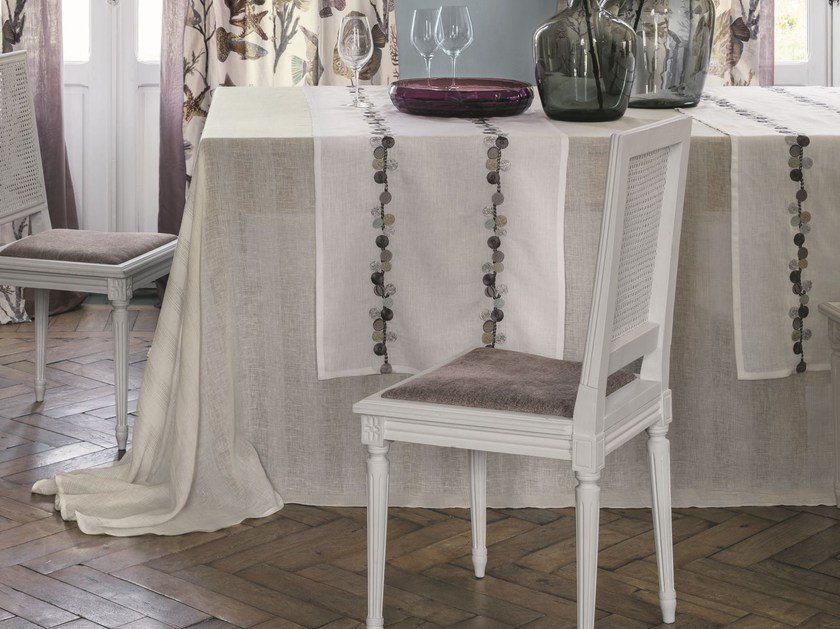 Linen tablecloth HELIOS | Tablecloth - Zimmer + Rohde
