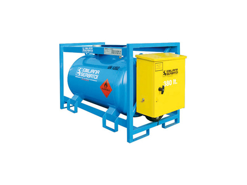 Basin, cistern and tank for water works TRASPO® TFT 380 - EMILIANA SERBATOI