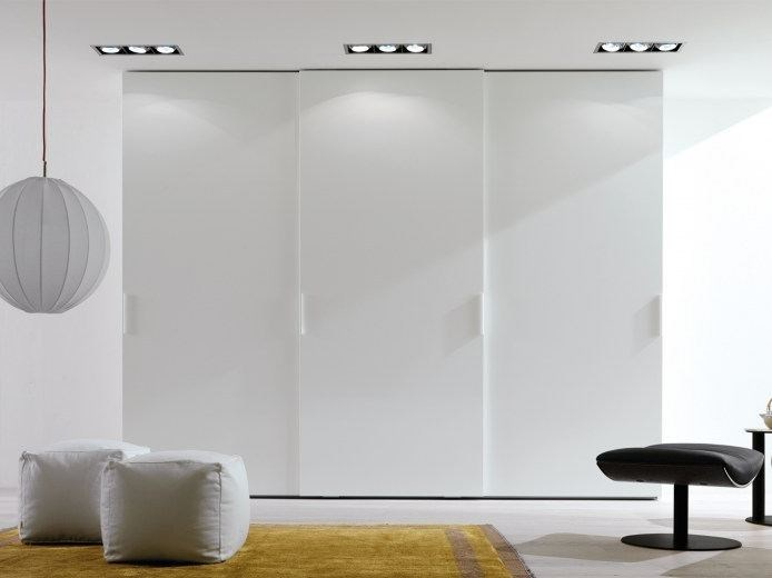 Lacquered wardrobe with sliding doors COMBI SYSTEM Z321 - Zalf