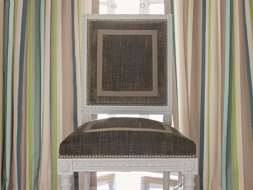 Striped fabric for curtains LAFAYETTE STRIPE | Fabric for curtains - Zimmer + Rohde